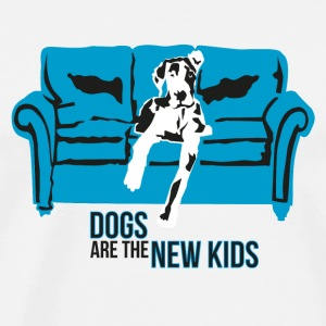Dogs are the New Kids Tassen - Männer Premium T-Shirt