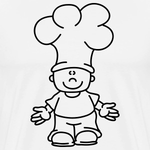 Sweet little Cook Tabliers - T-shirt Premium Homme
