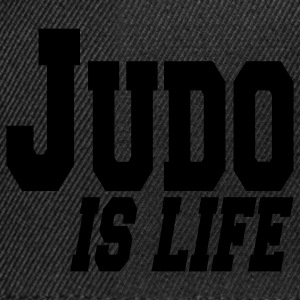 judo is life Ondergoed - Snapback cap