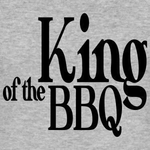 king of the bbq Hoodies & Sweatshirts - Men's Slim Fit T-Shirt