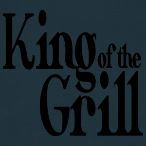king of the grill Grembiuli - Maglietta da uomo