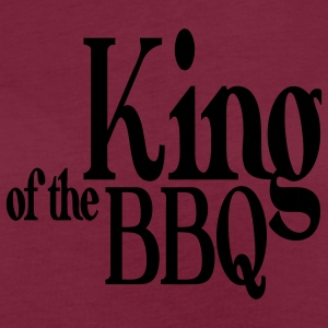 king of the bbq Schürzen - Frauen Oversize T-Shirt