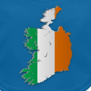 Map of Ireland 2 - Baby Bio-Lätzchen