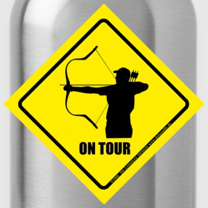 on_tour_horsebow T-Shirts - Trinkflasche