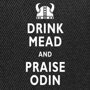 Drink Mead & Praise Odin. Mens Classic Tee - Snapback Cap