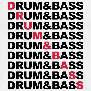 Drum & Bass Hoodies & Sweatshirts - Men's Premium T-Shirt
