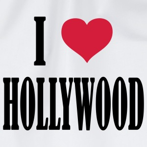 i_love__hollywood T-Shirts - Turnbeutel