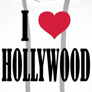 i_love__hollywood T-Shirts - Männer Premium Hoodie