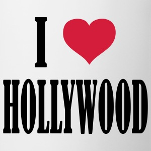 i_love__hollywood T-Shirts - Tasse