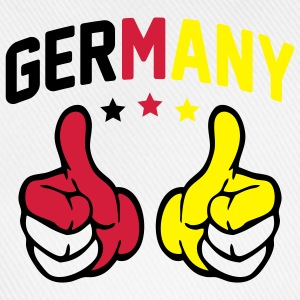 Germany Thumbs Up T-Shirts - Baseballkappe