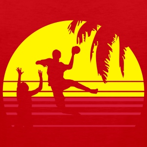 SUNSET BEACH HANDBALL T-Shirts - Männer Premium Tank Top