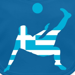 Greece soccer UK - Baby Organic Bib