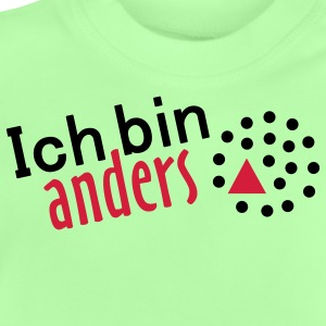 Ich bin anders - 2farb Kinder Pullover - Baby T-Shirt