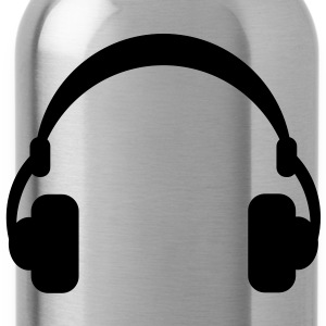 headphones T-Shirts - Trinkflasche