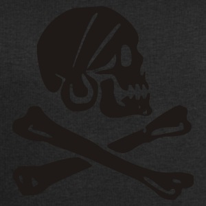 skull - pirate - pirates - bone - pirates of the caribbean - Men's Sweatshirt by Stanley & Stella