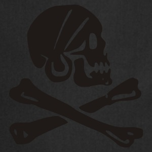 skull - pirate - pirates - bone - pirates of the caribbean - Cooking Apron