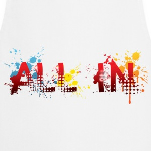 All in, graffiti T-Shirts - Keukenschort