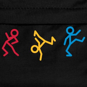 Dancing stick figure - Acid House T-Shirts - Kids' Backpack
