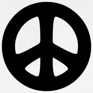 peace sign hippie Camisetas - Gorra béisbol