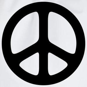 peace sign hippie T-shirts - Gymnastikpåse