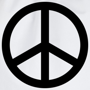 peace sign hippie T-shirts - Gymtas