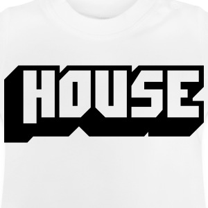 music house T-shirts Enfants - T-shirt Bébé