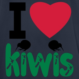 I LOVE KIWIS - Men's Breathable T-Shirt
