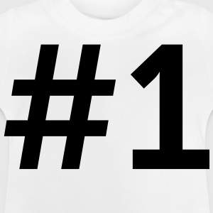 Pound Number 1 (1c)++ Barn-T-shirts - Baby-T-shirt