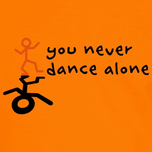 You never dance alone Hoodies & Sweatshirts - Men's Ringer Shirt