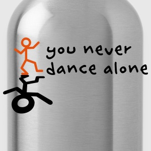 You never dance alone Kids' Shirts - Water Bottle