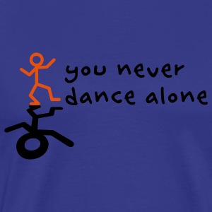 You never dance alone Kids' Tops - Men's Premium T-Shirt