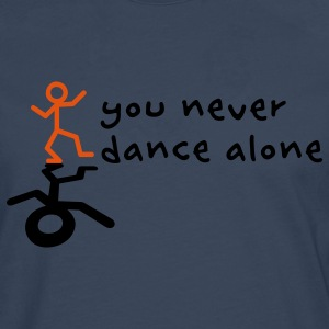 You never dance alone Kinder Pullover - Männer Premium Langarmshirt