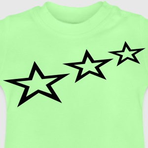 flying_stars_1c Barntröjor - Baby-T-shirt