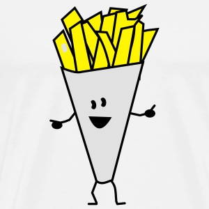 french fries Pullover - Männer Premium T-Shirt