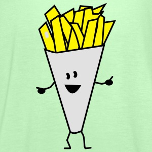 french fries Kids' Tops - Women's Tank Top by Bella