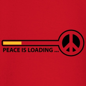 peace_is_loading_text_version_2c T-shirts - Langærmet babyshirt