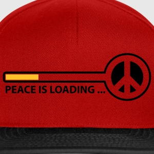 peace_is_loading_text_version_2c T-skjorter - Snapback-caps