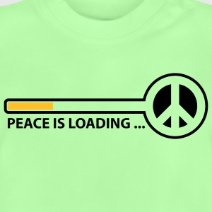 peace_is_loading_text_version_2c Kinder sweaters - Baby T-shirt