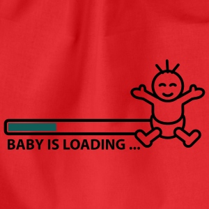baby_is_loading_text_version_2c T-skjorter - Gymbag