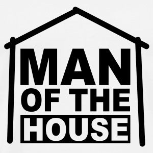 MAN OF THE HOUSE 2 Baby Body NW - Männer Premium T-Shirt