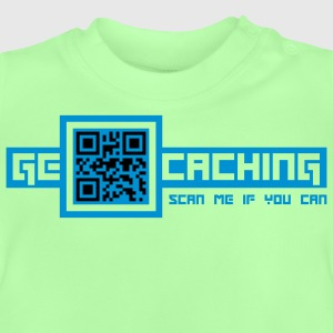 QRCode - 2colors - 2011 Tröjor - Baby-T-shirt