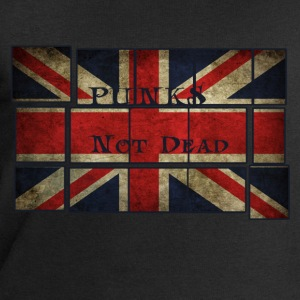 Punks Not Dead on the English flag.  T-Shirts - Men's Sweatshirt by Stanley & Stella
