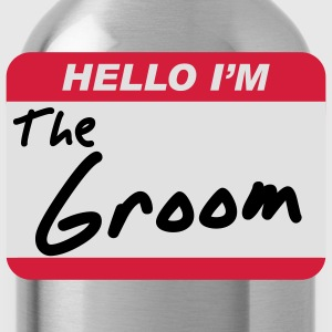 Hello I'm the Groom - Water Bottle