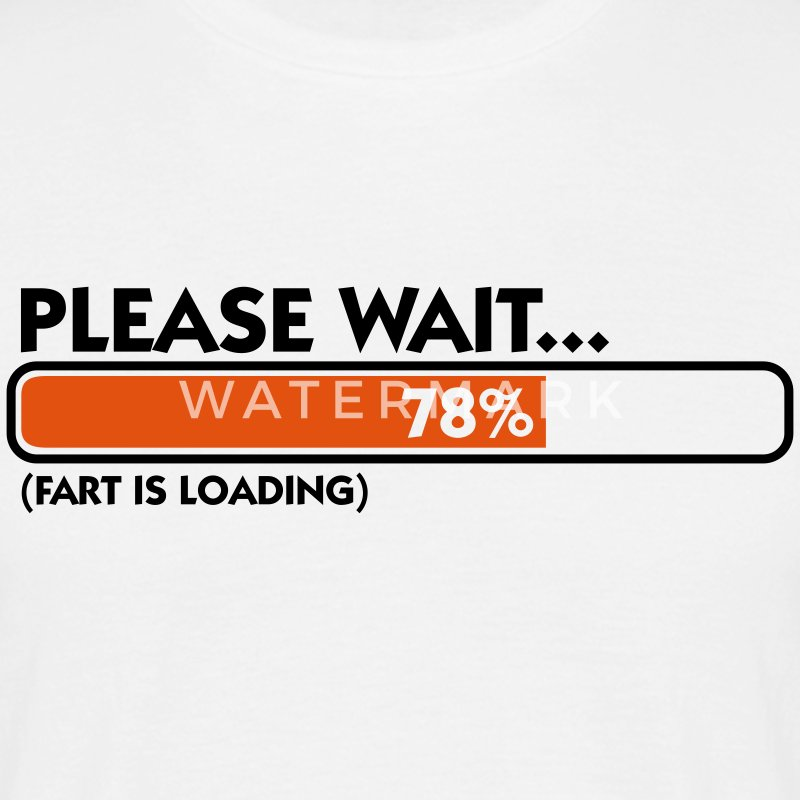 Fart Is Loading (2c)++ T-skjorter - T-skjorte for menn