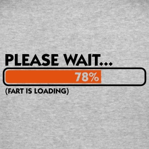Fart Is Loading (2c)++ Sweatshirts - Tee shirt près du corps Homme