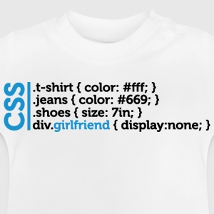 Css Clothes Girlfriend (dd)++ Kinder shirts - Baby T-shirt