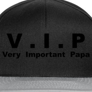 T-shirt Classique Homme V.I.P - Very Important Papa - Casquette snapback