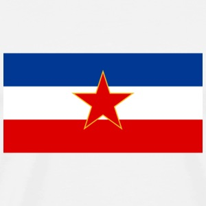 Socialist Federal Republic of Yugoslavia Flag, 1945-1992 - Men's Premium T-Shirt