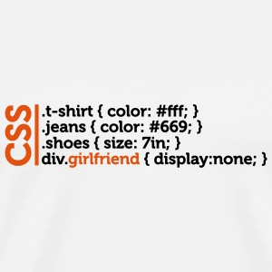 Css Clothes Girlfriend (2c)++ Tassen - Mannen Premium T-shirt