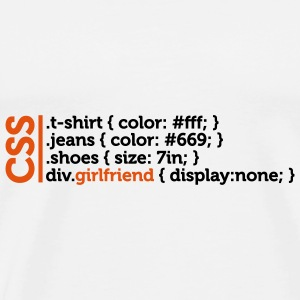 Css Clothes Girlfriend (2c)++ Vesker - Premium T-skjorte for menn